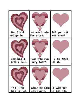Valentine's Day Activity:  Read and Graph Valentines