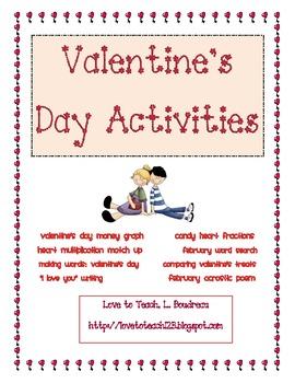 Valentine's Day Activity Unit