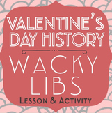 Valentine's Day Activity: Parts of Speech, Nonfiction Read
