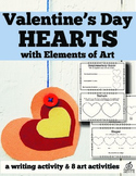 Valentine's Day Art and Writing Activity