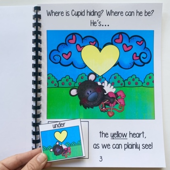 """Valentine's Day Adapted Book--""""Where is Cupid Hiding?"""""""