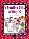 Valentine's Day Adding 10 Math Station