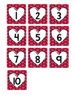 Valentine's Day Adding up to 10:  Day 11 of 14 Days of Love