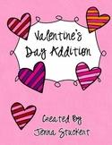 Valentine's Day Addition Board Game
