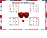 Valentine's Day Addition Game for Smart Board