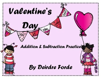 Valentine's Day Addition & Subtraction