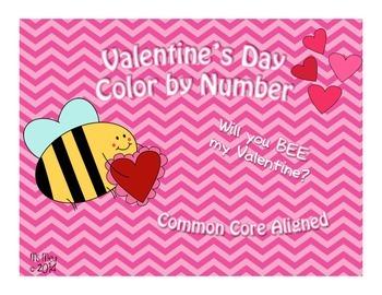 Valentine's Day Addition & Subtraction COMMON CORE