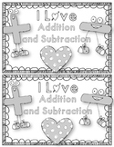 Valentine's Day Addition & Subtraction {Valentine's Day Word Problem Mini Book}