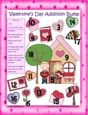 Valentine's Day Addition, Subtraction, and Multiplication