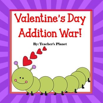 Valentine's Day Addition War