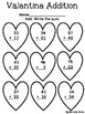 Valentine Addition (no regrouping)