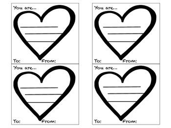 Valentine's Day Adjective Grams