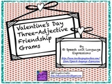 Valentine's Day Adjective Grams [FREE]