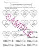 Valentines Day Adjective Matching Activity!