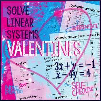 Valentine's Day Algebra: Systems of Equations