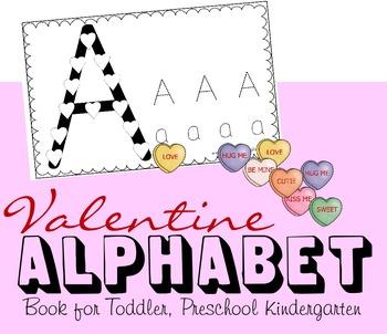 Valentines Day Alphabet Book