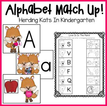 Valentine's Day Alphabet Match-Up