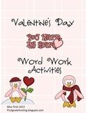 Valentine's Day Alphabetical Order Differentiated Word Work