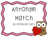 Valentine's Day Antonym Match
