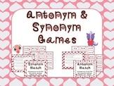 Valentines Day Antonym and Synonym games