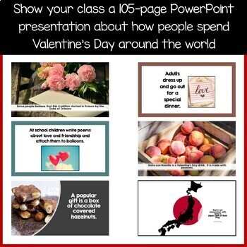 Valentine's Day Around the World Literacy Activities Growing Endless