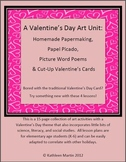 Valentine's Day Art Bundle: Incorporate Science, Writing & Social Studies