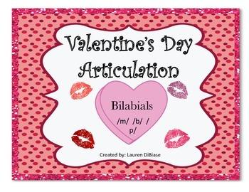 Valentine's Day Articulation (Bilabials!)