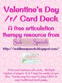 Valentine's Day Articulation Card Deck
