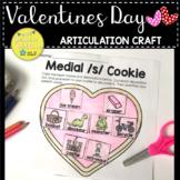Valentines Day Articulation Craft