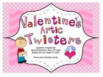 Valentine's Day Articulation Tongue Twisters