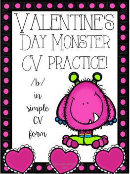 Valentines Day Articulation /b/