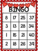 Valentines Day BINGO- Numbers 1-40