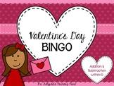 Valentine's Day Math BINGO for First Grade {Addition, Subt