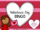 Valentine's Day BINGO for Second Grade {Addition, Subtract