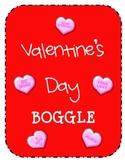 Valentine's Day BOGGLE