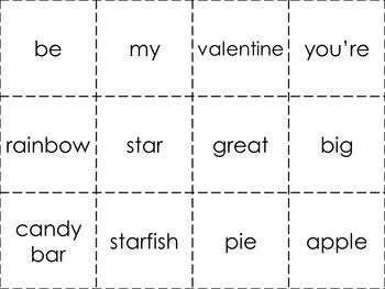 Be My Lovely Valentine Emergent Reader BUNDLE