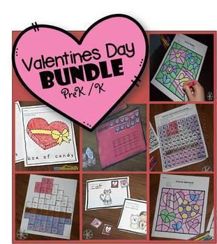 Valentines Day BUNDLE (Prek / K)