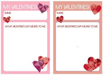Valentine's Day Bag Labels