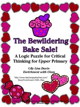Bewildering Bake Sale! Logic Puzzle for UPPER Primary