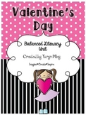 Valentine's Day:  Balanced Literacy Unit
