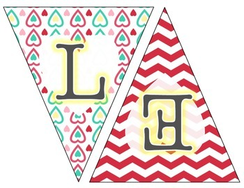 Valentine's Day Banner - Classroom Decor