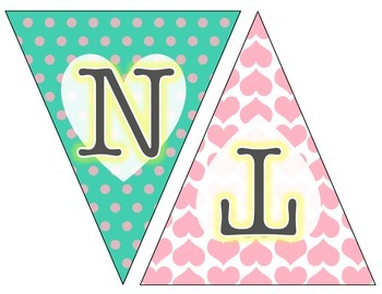Valentine's Day Banner - Classroom Decor