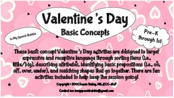 Valentine's Day-Basic Concepts