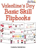 Valentine's Day Basic Skill Flipbooks