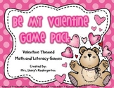 Valentine's Day - Be My Valentine Game Pack