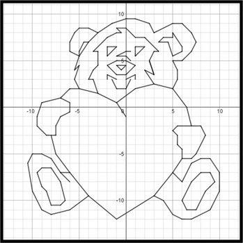 Valentine's Day - Bear Hug - A Linear Equation Graphing Activity