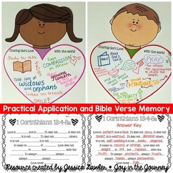 God's Love Bible Packet - 1 Corinthians 13