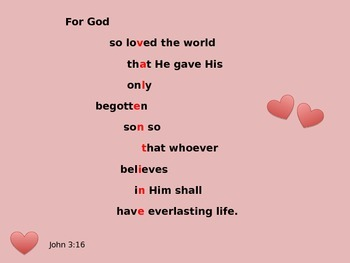 Valentine's Day Bible Quote