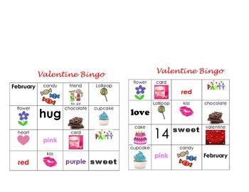 Valentines Day Bingo