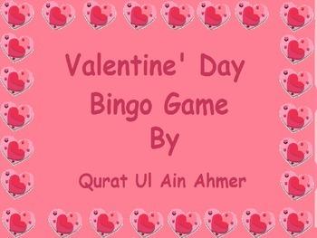 Valentine's Day Bingo: